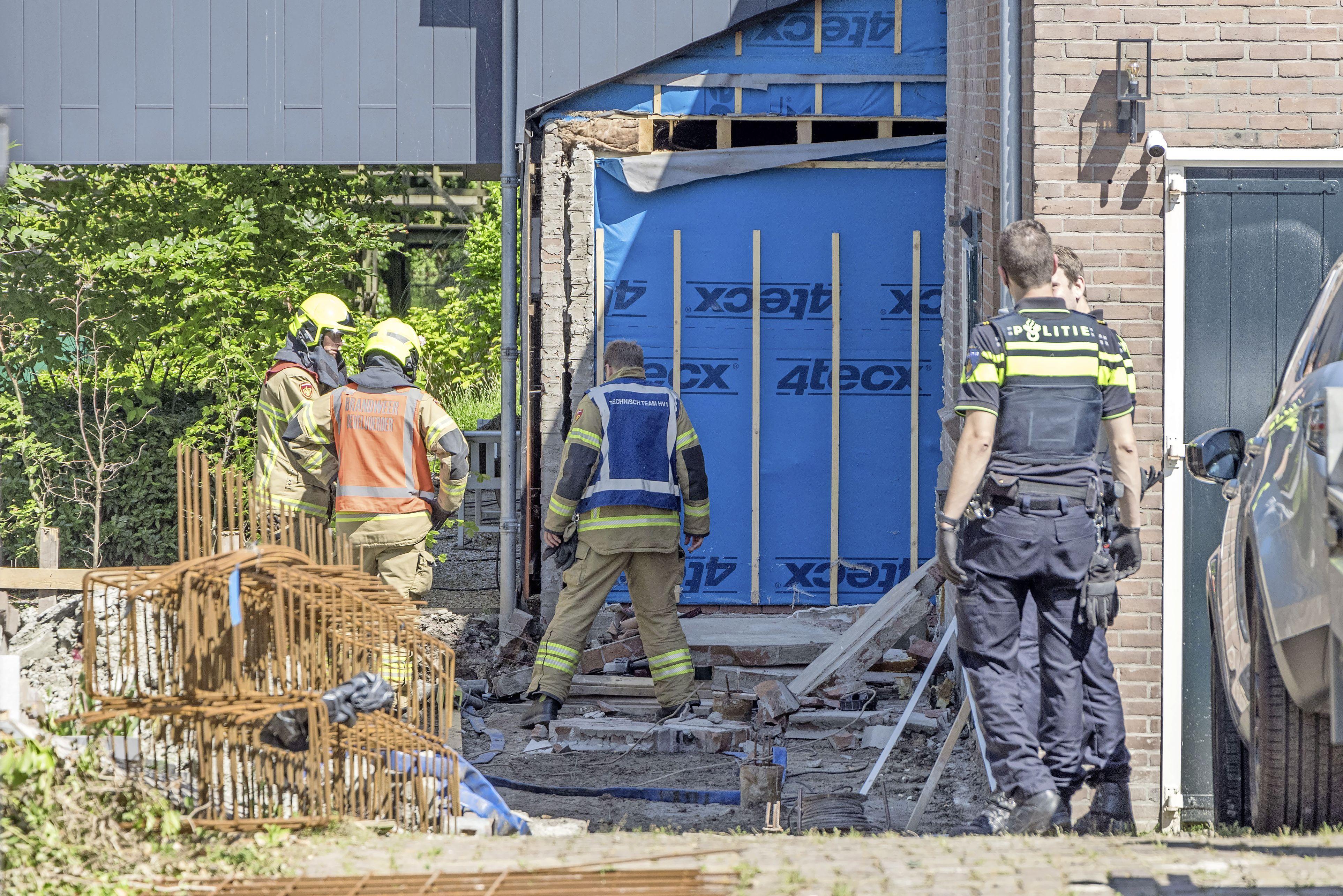 Bouwvakker overleden aan gevolgen instortende muur in Hoogkarspel