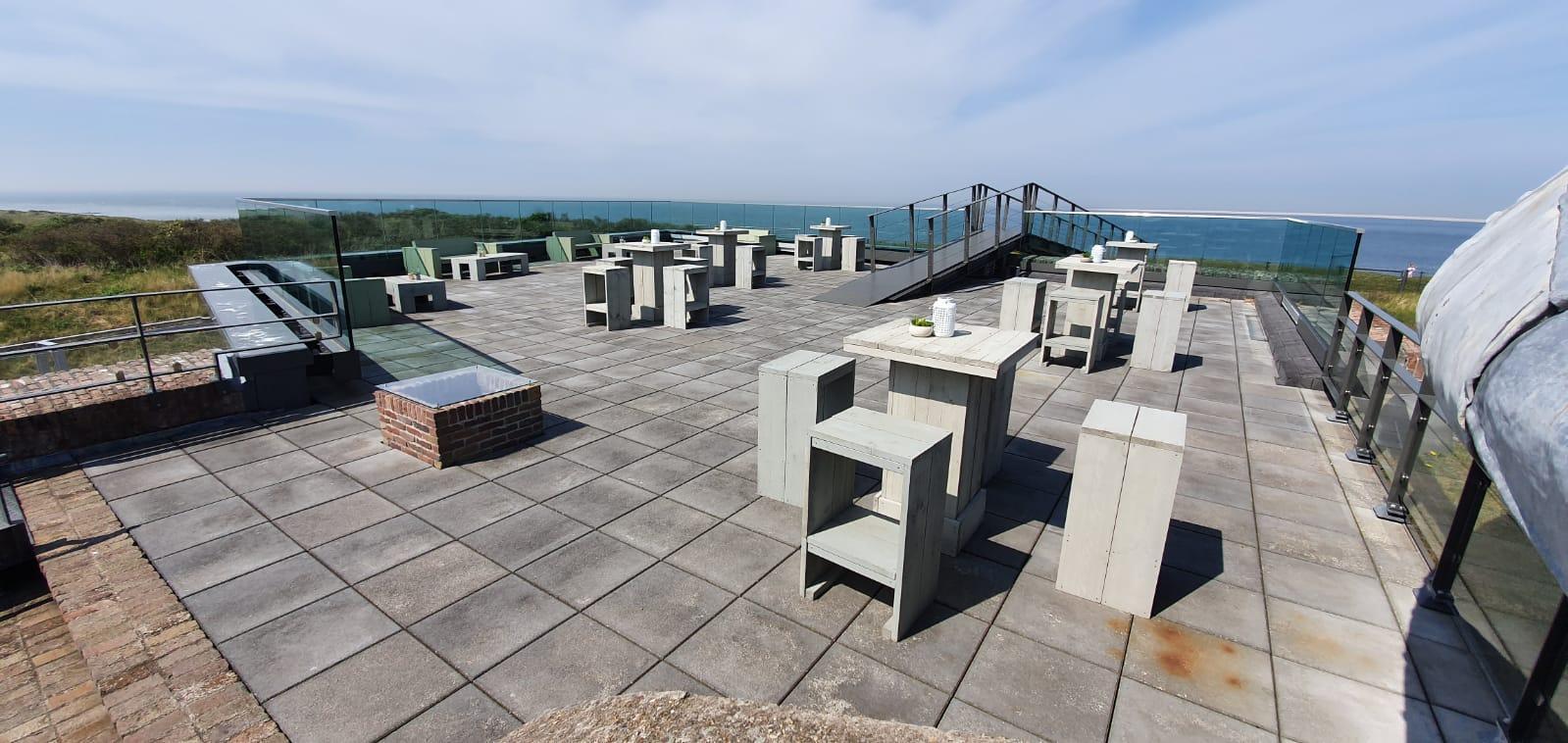 Terrasje pakken bij Fort Kijkduin in Den Helder? Vanaf 1 juni kan het, maar dan wel alleen voor bezoekers
