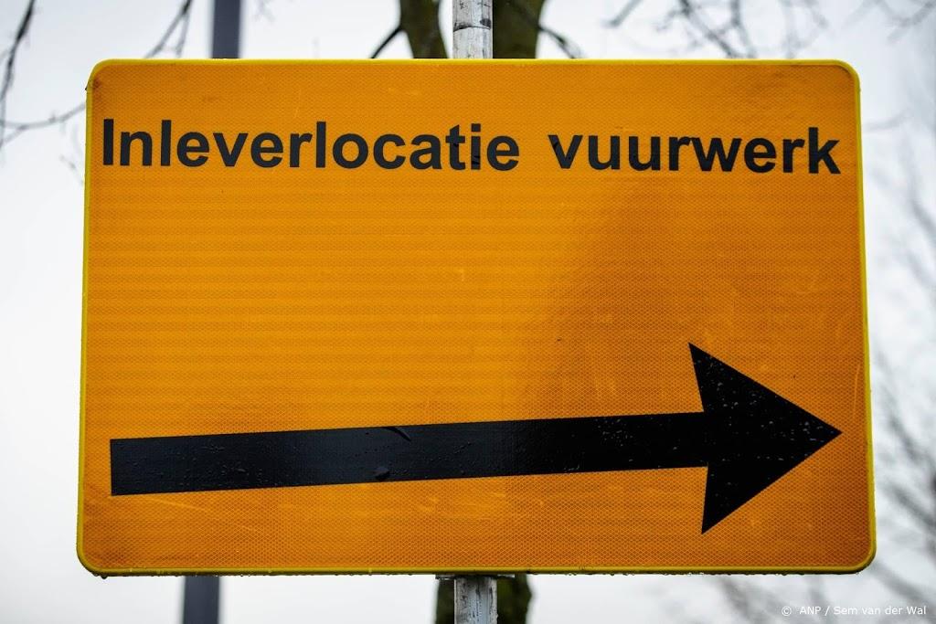 207 kilo vuurwerk ingeleverd op eerste inzameldag Den Haag