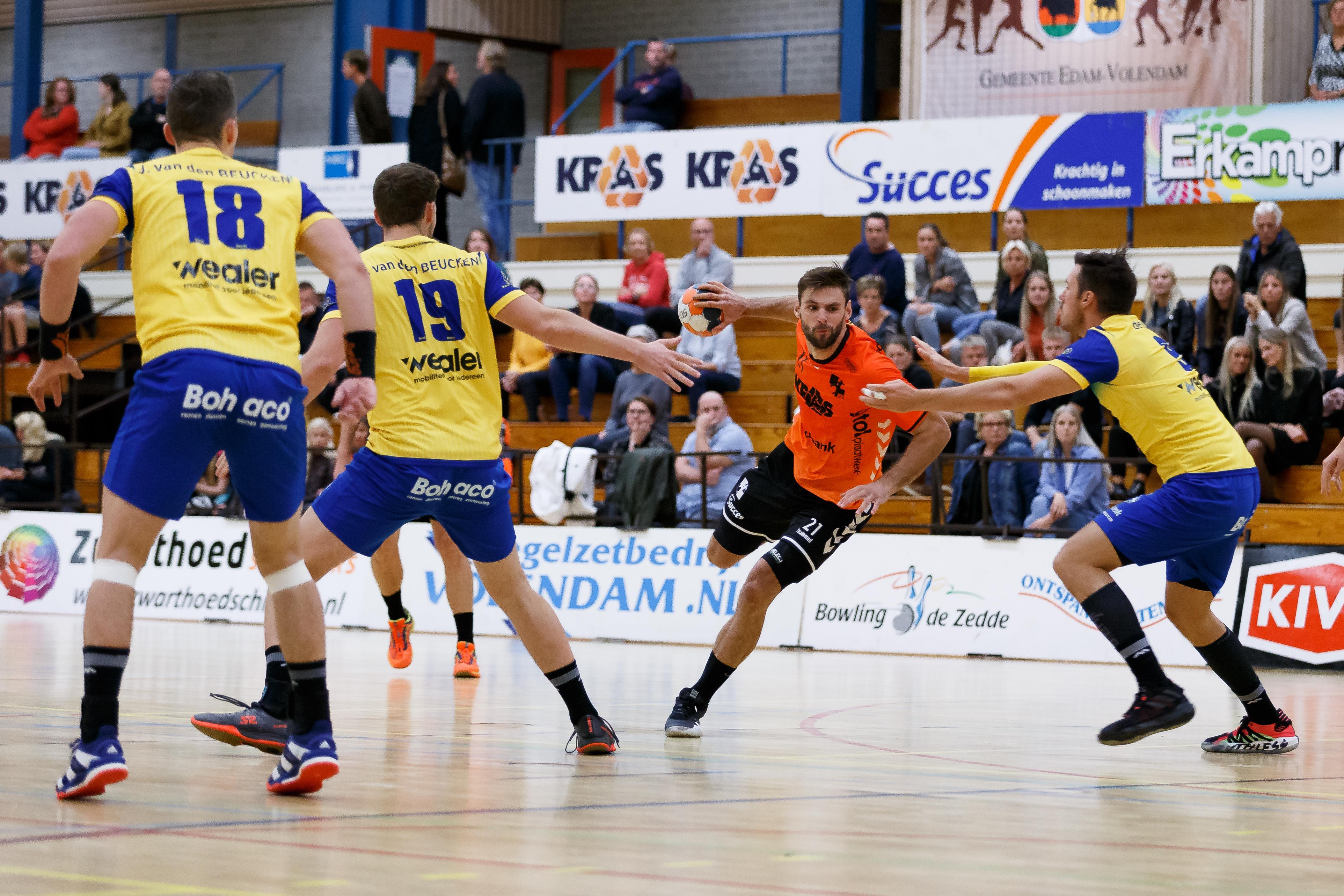 Jorn Smits maakt indruk bij Nederlands team en vertrekt van HV Volendam naar Deense topclub TTH Holstebro