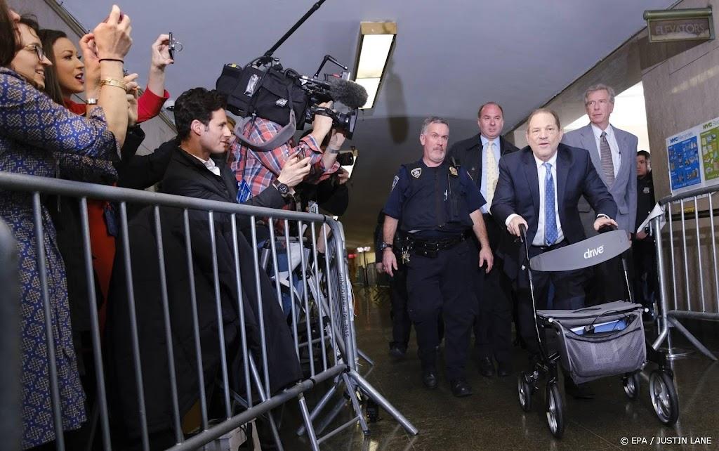 Weinstein uitgeleverd aan Californië voor nieuwe misbruikzaak