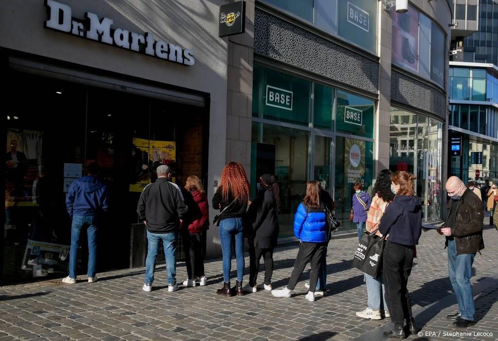 Winkels in België 1 december weer open