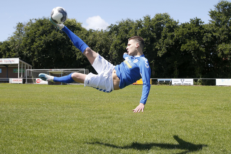 Owen Gatowinas wil bij Petten worden afgerekend op het máken van goals: 'Alleen als de eerste keeper geblesseerd raakt, sta ik nog op doel'