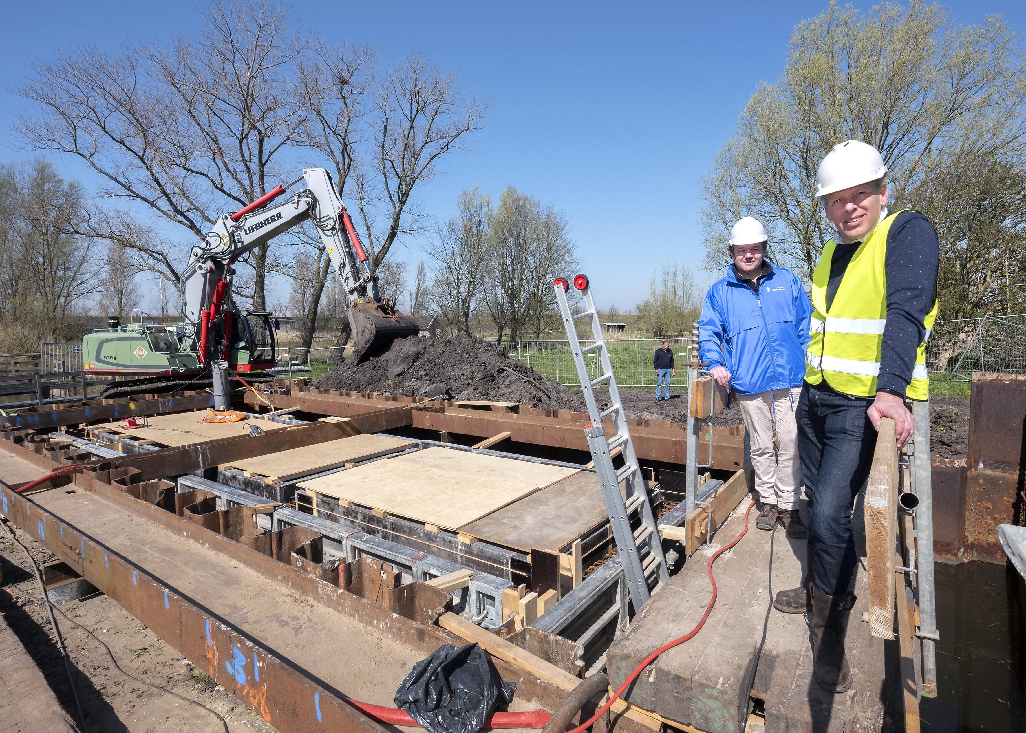 Waterschap Rijnland bouwt vispassage met modern camerasysteem bij gemaal Spaarndam