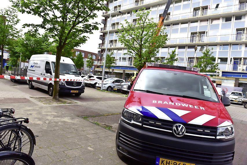 Gaslek in Leidse Opaalstraat; brandweer en Liander enige tijd bezig om afsluiter te vinden [update]