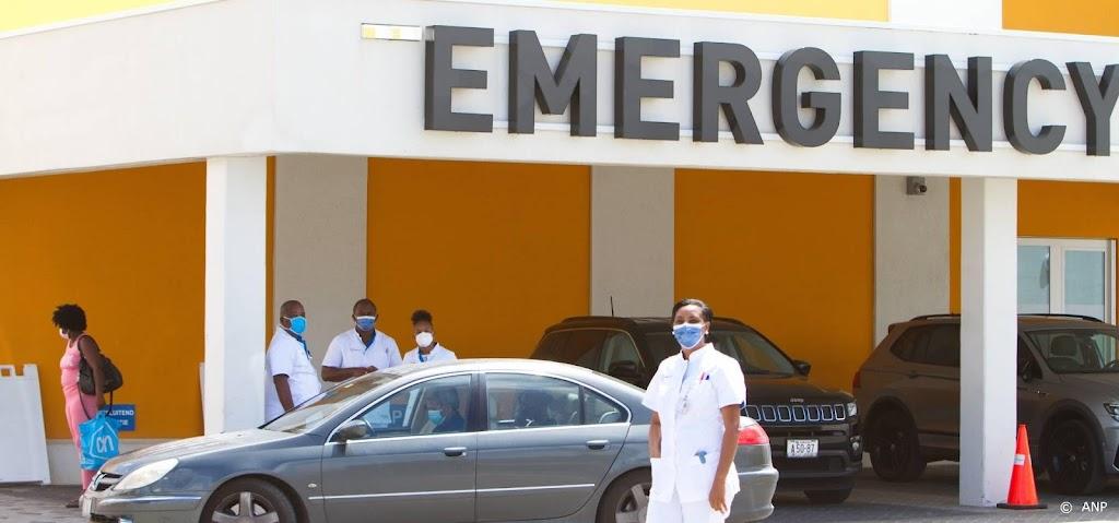 Aantal ziekenhuispatiënten met Covid-19 stijgt op Curaçao