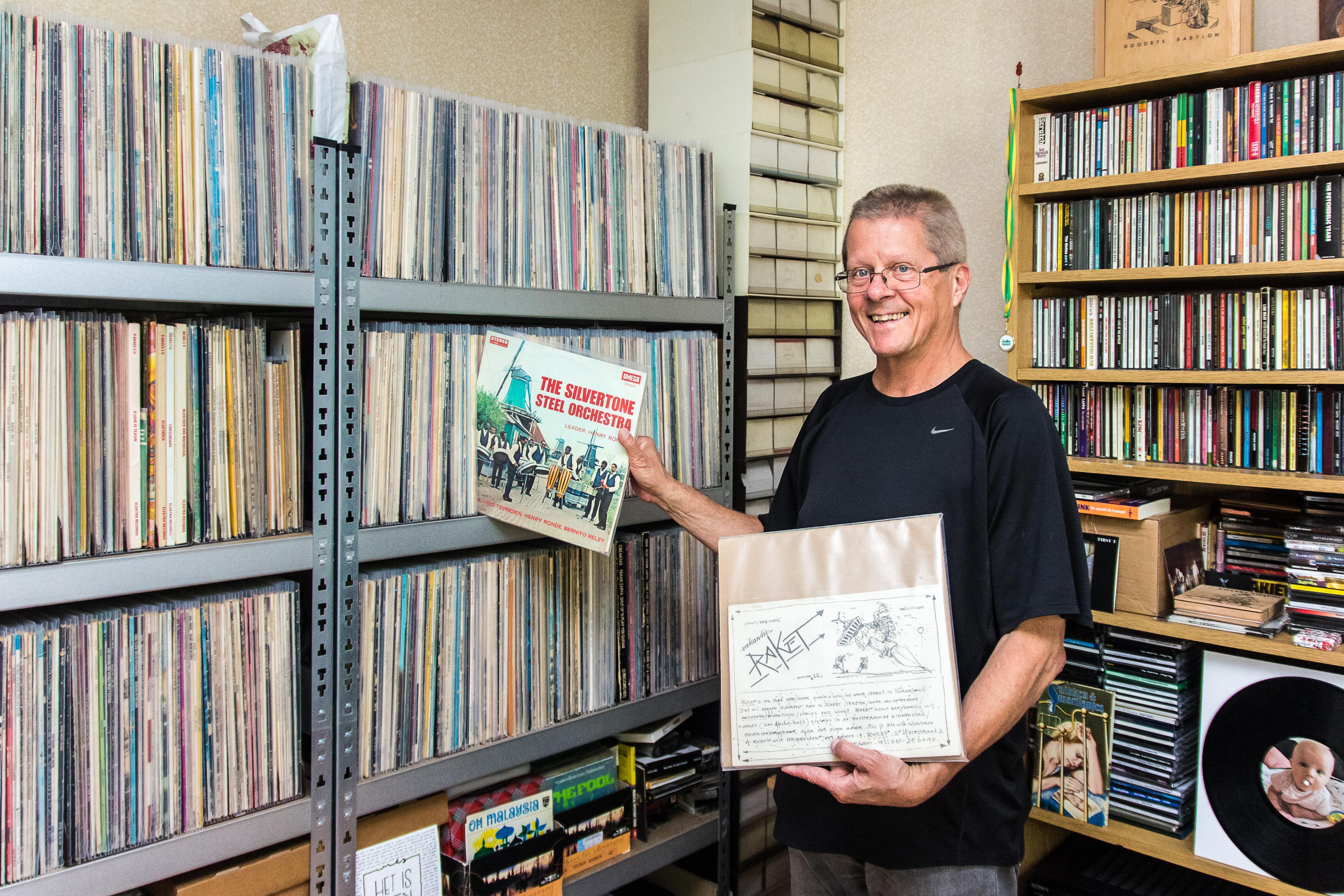 Rob Hendriks klaart titanenklus: na vijftien jaar is boek over Zaanse pophistorie klaar