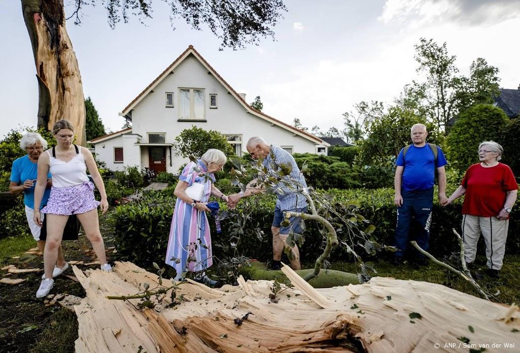KNMI: Onderzoek moet uitwijzen of sprake was van een windhoos
