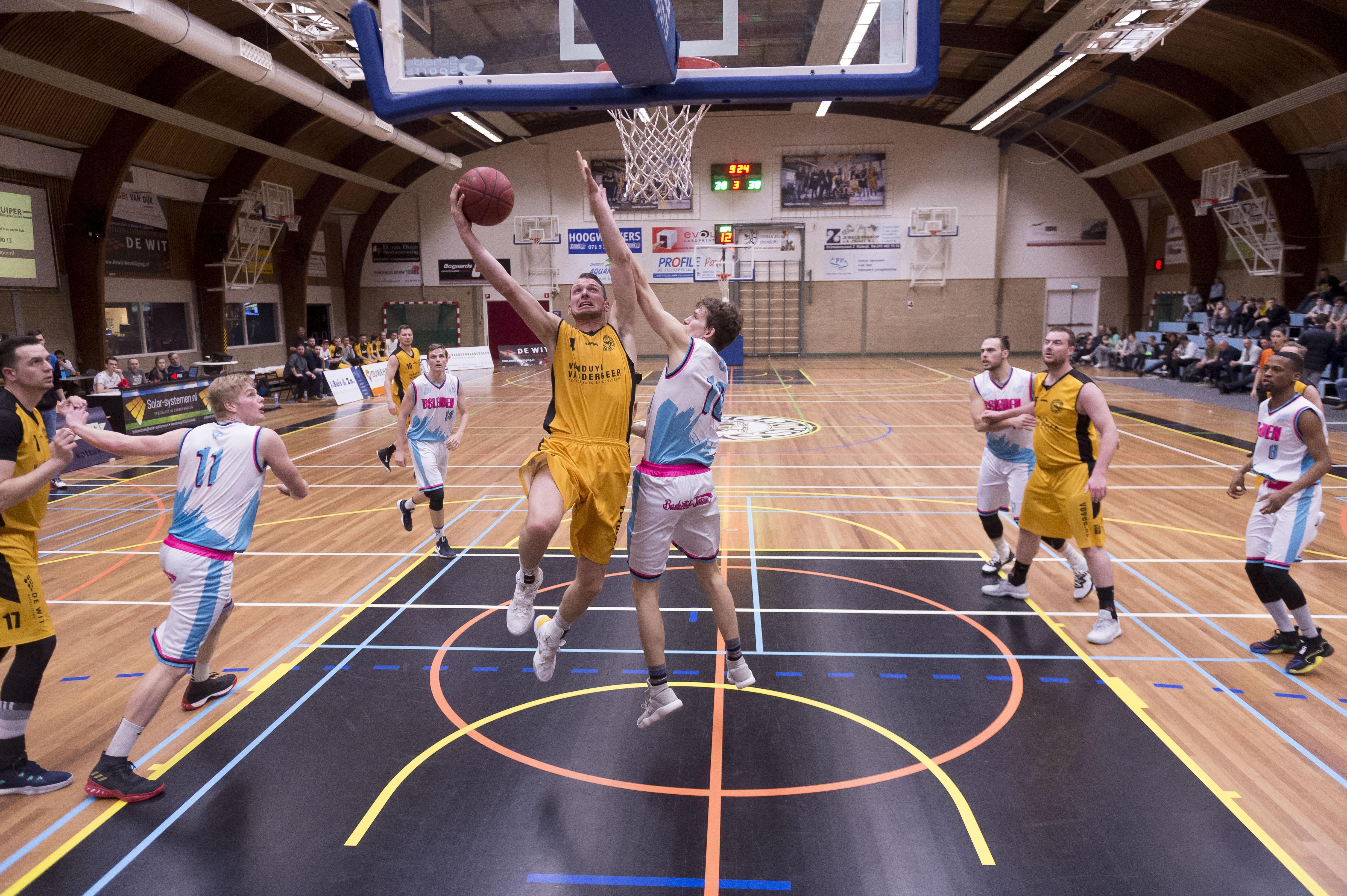 BS Leiden is boos op de basketbalbond na bekend worden indelingen