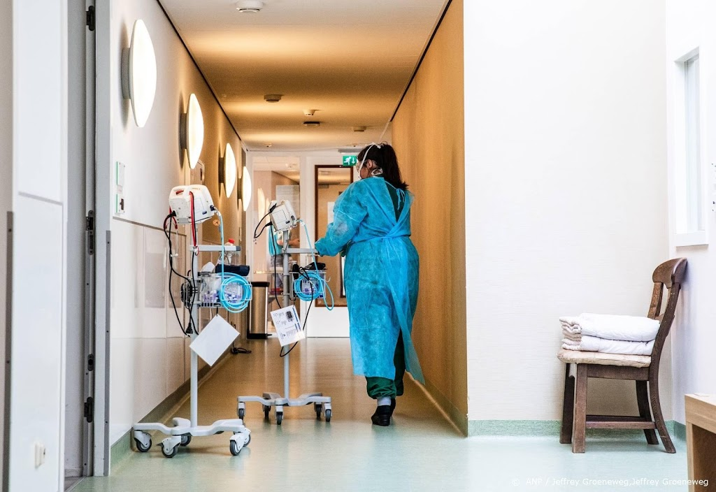 Gemiddelde ziekenhuis behandelt nog drie coronapatiënten