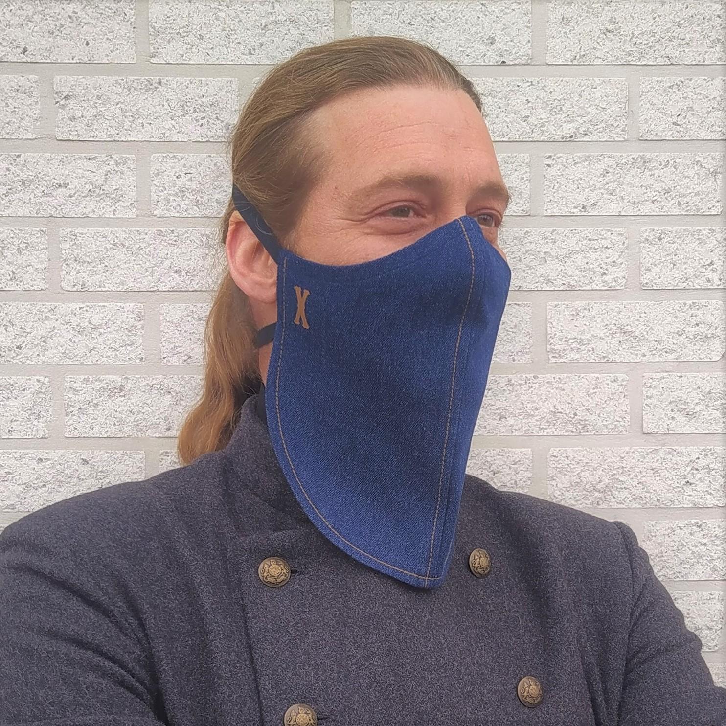 Belgische baardkap verovert Nederland. 'Baard naar de knoppen door standaard mondmasker'