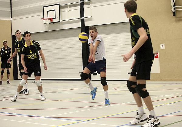 Teun Buijs zet lijnen uit bij volleybalclub Huizen