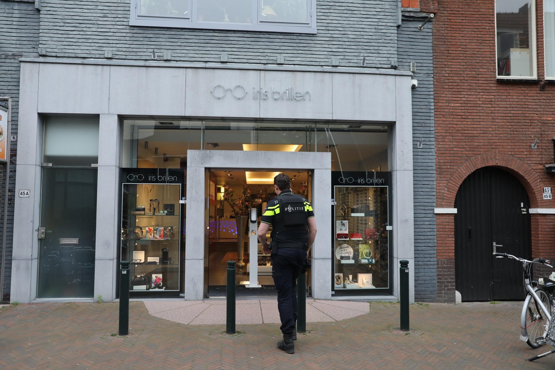 Diefstal bij Iris Brillen in Baarn: verdachten na klopjacht aangehouden [update]