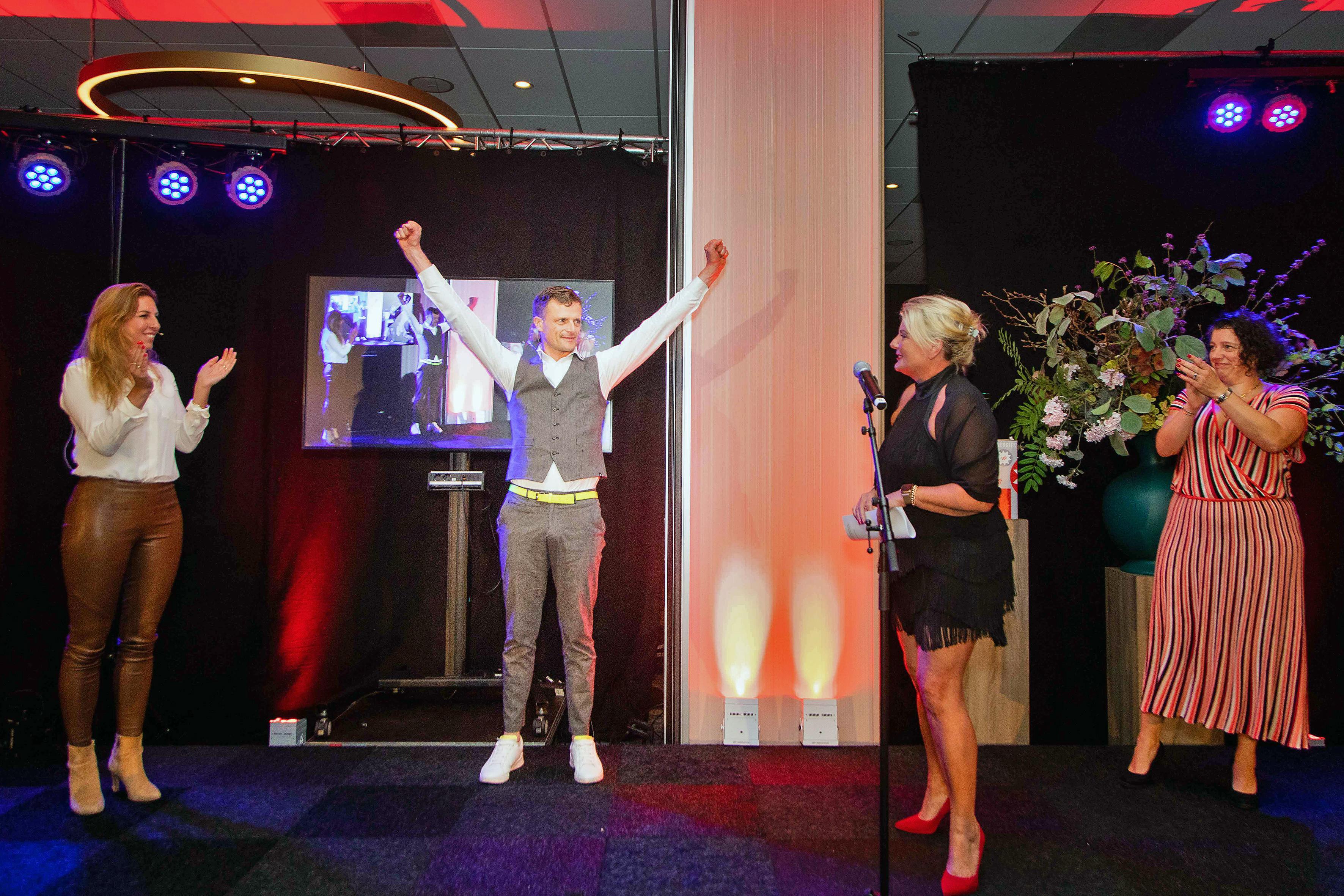 Gerard Koelewijn van Easypers wint Haarlemse Ondernemers Prijs