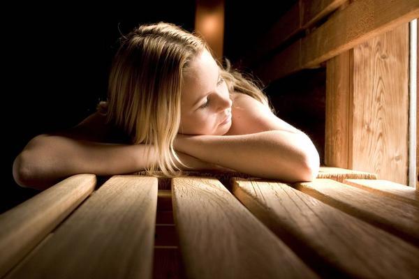 Luxe sauna bleek een zinkend schip