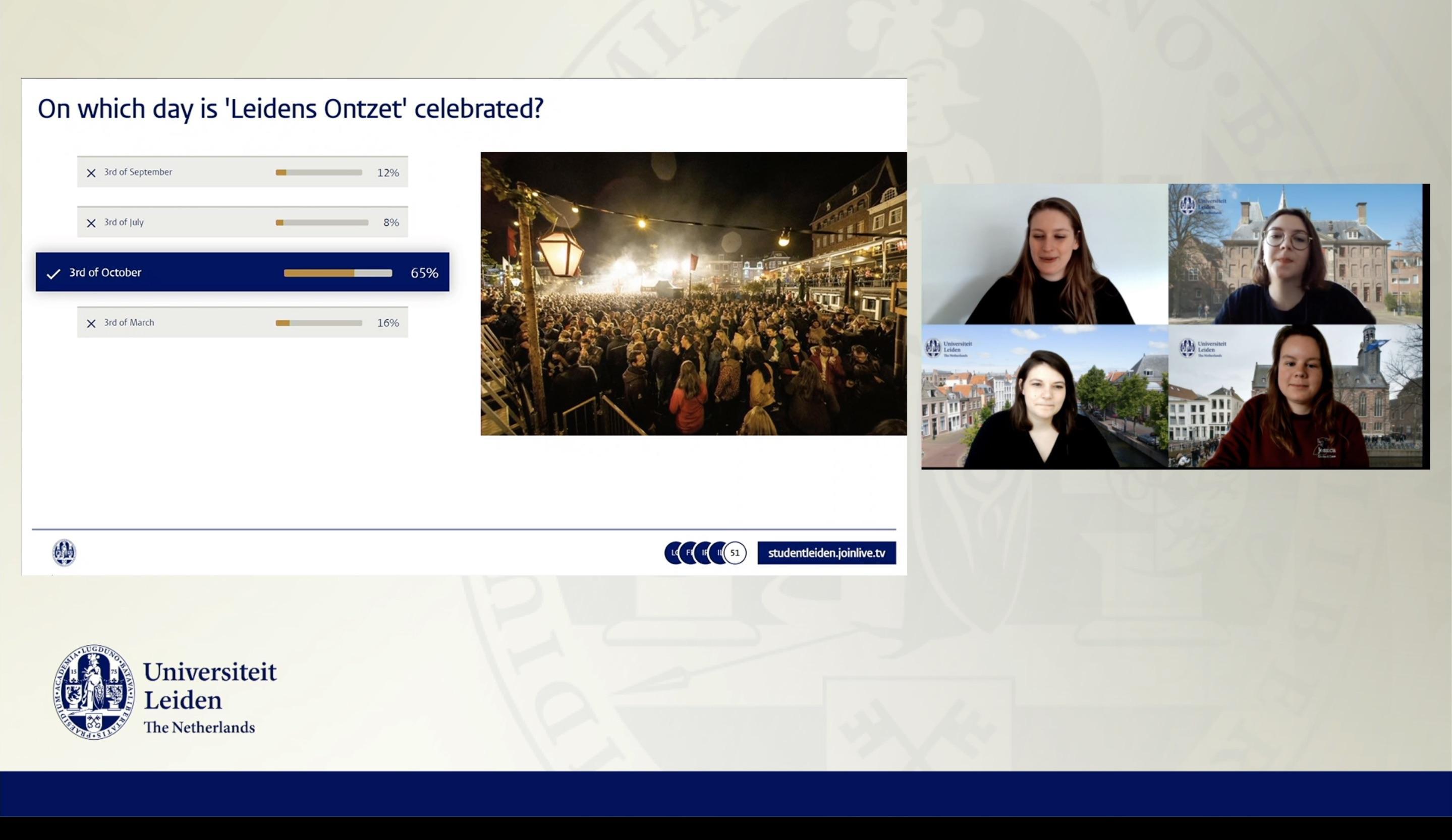 Online open dag Universiteit Leiden trekt studiekiezers uit Indonesië, Brazilië en Amerika