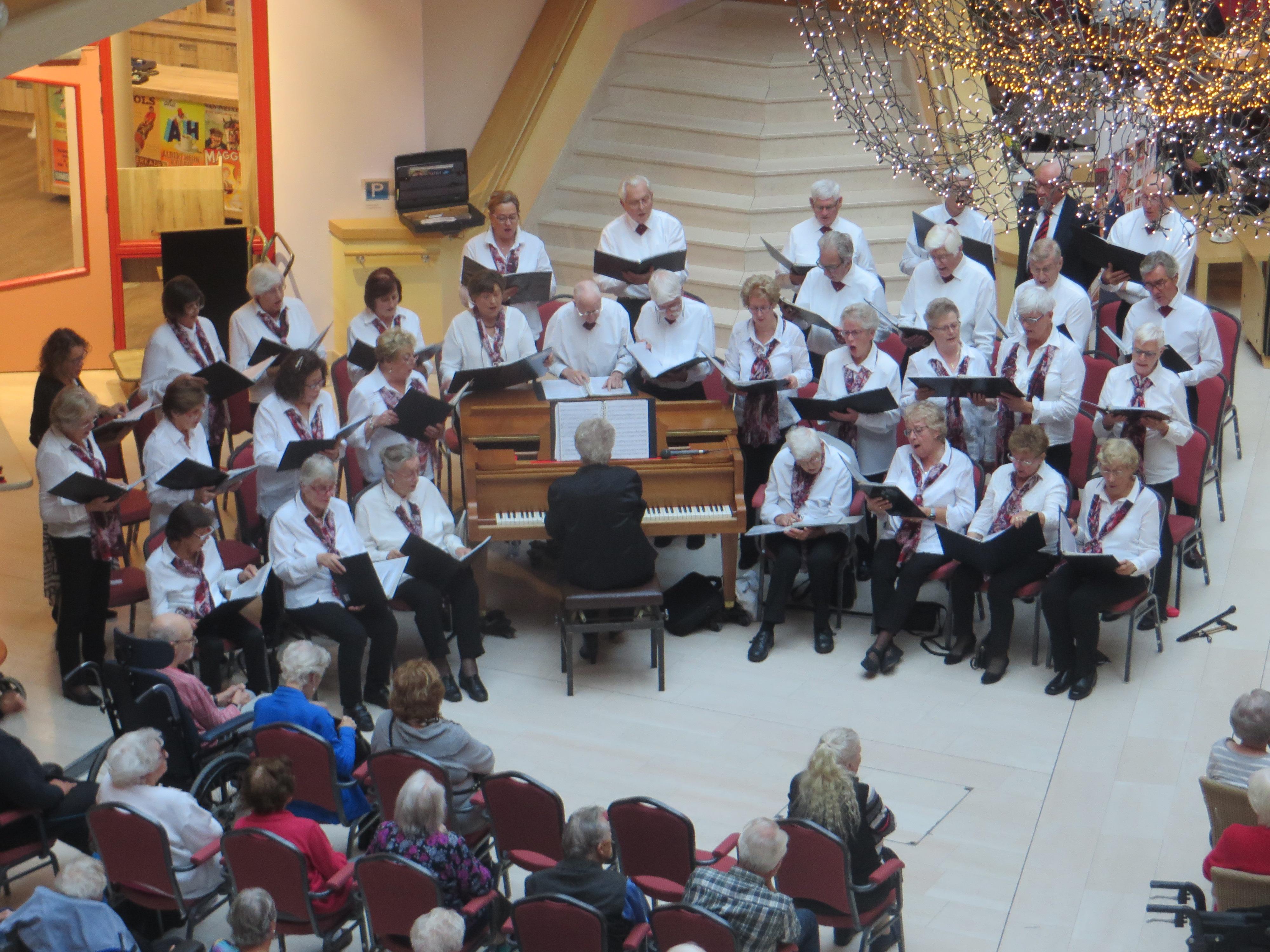 Maandagmiddag is al een kwart eeuw heilig voor Haarlems koor The Midday Singers: 'We zingen nog lekker'