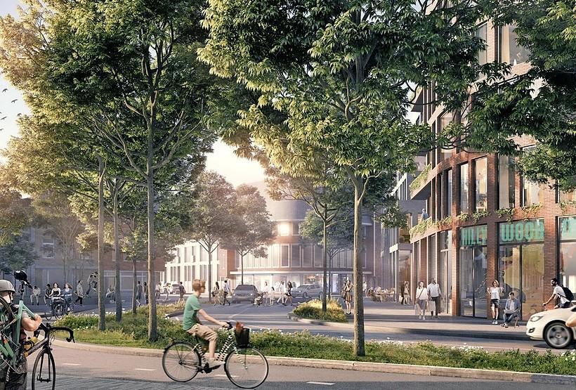 Hilversum verlaagt parkeernorm van nieuwbouw bij de stations om meer betaalbare woningen te kunnen bouwen