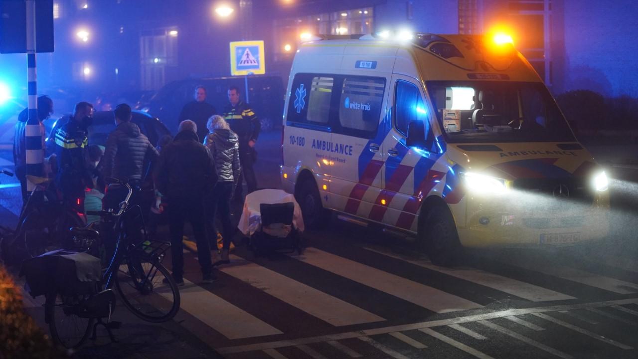 Fietsster ernstig gewond bij botsing in Egmond aan Zee