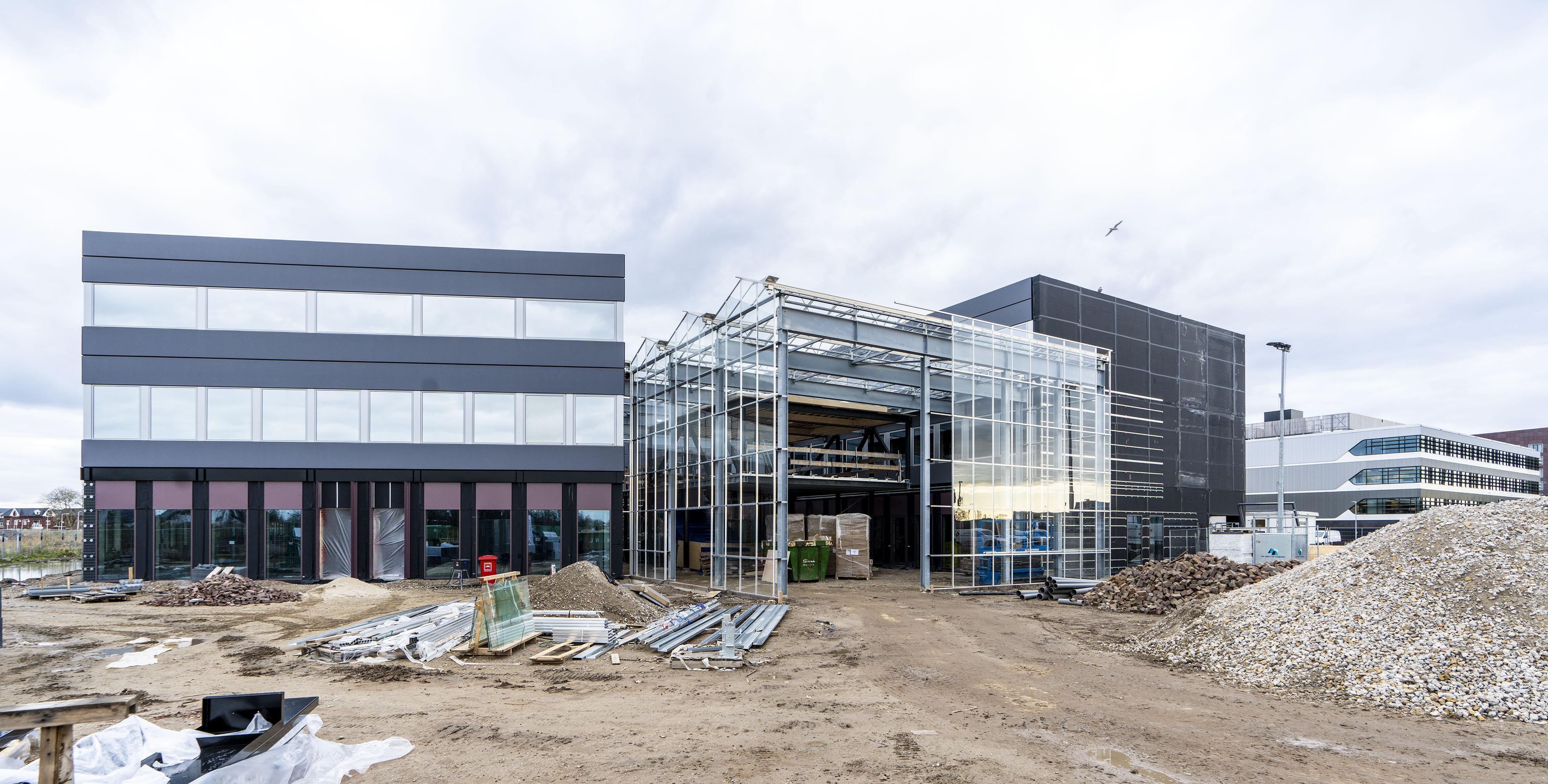 Nieuw bedrijfsverzamelgebouw BioPartner 5 krijgt wintertuin voor 'gemeenschapsgevoel'