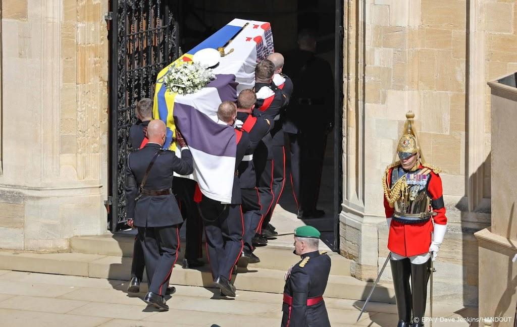 Uitvaartdienst voor prins Philip begonnen
