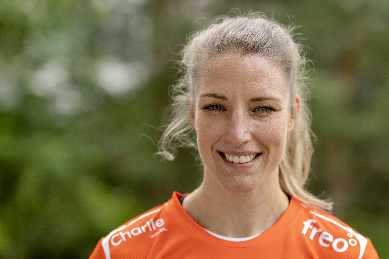 Jessy Kramer haalde de Spelen van Tokio zelf niet, maar gunt voormalig teamgenote Nycke Groot een mooi afscheid: 'Ik ben ontzettend trots op haar'
