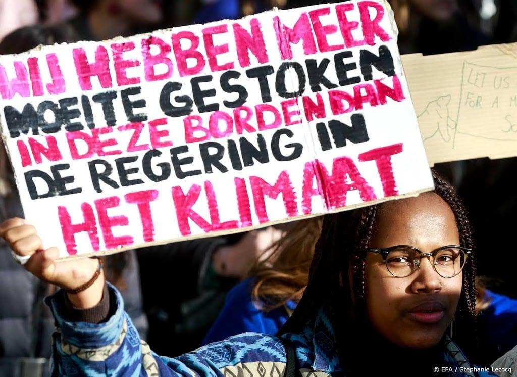 Jongeren houden klimaatstaking op Malieveld, maar wel coronaproof