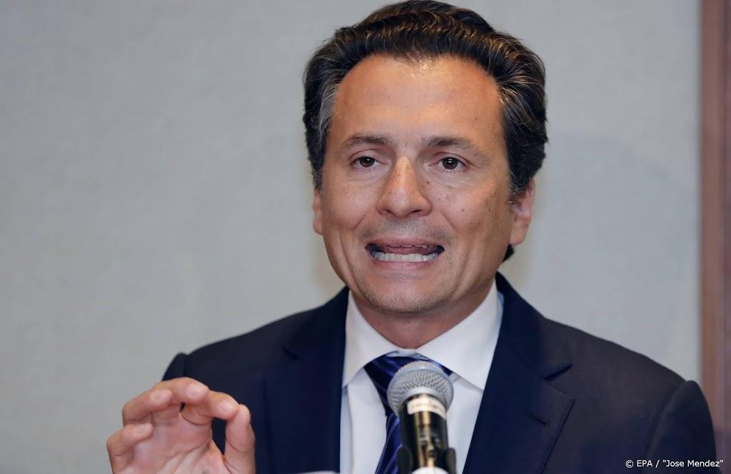 Voormalige oliebaas Mexico beticht oud-president van corruptie