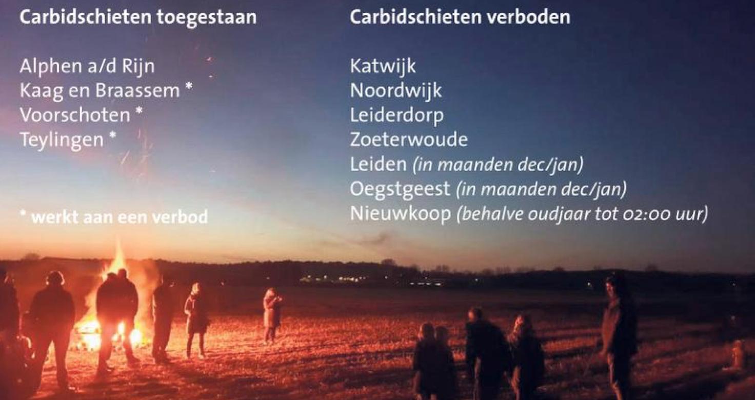 Noordwijk gaat verbod op carbidschieten handhaven: einde van een dorpstraditie?
