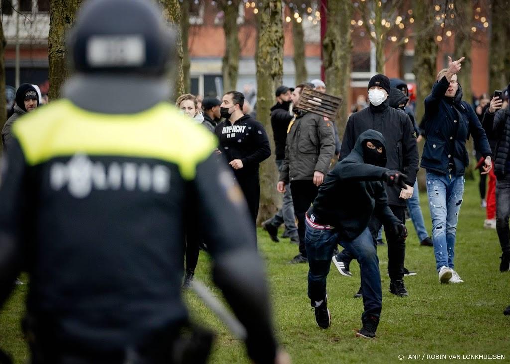 Nog een relschopper Museumplein 17 januari aangehouden