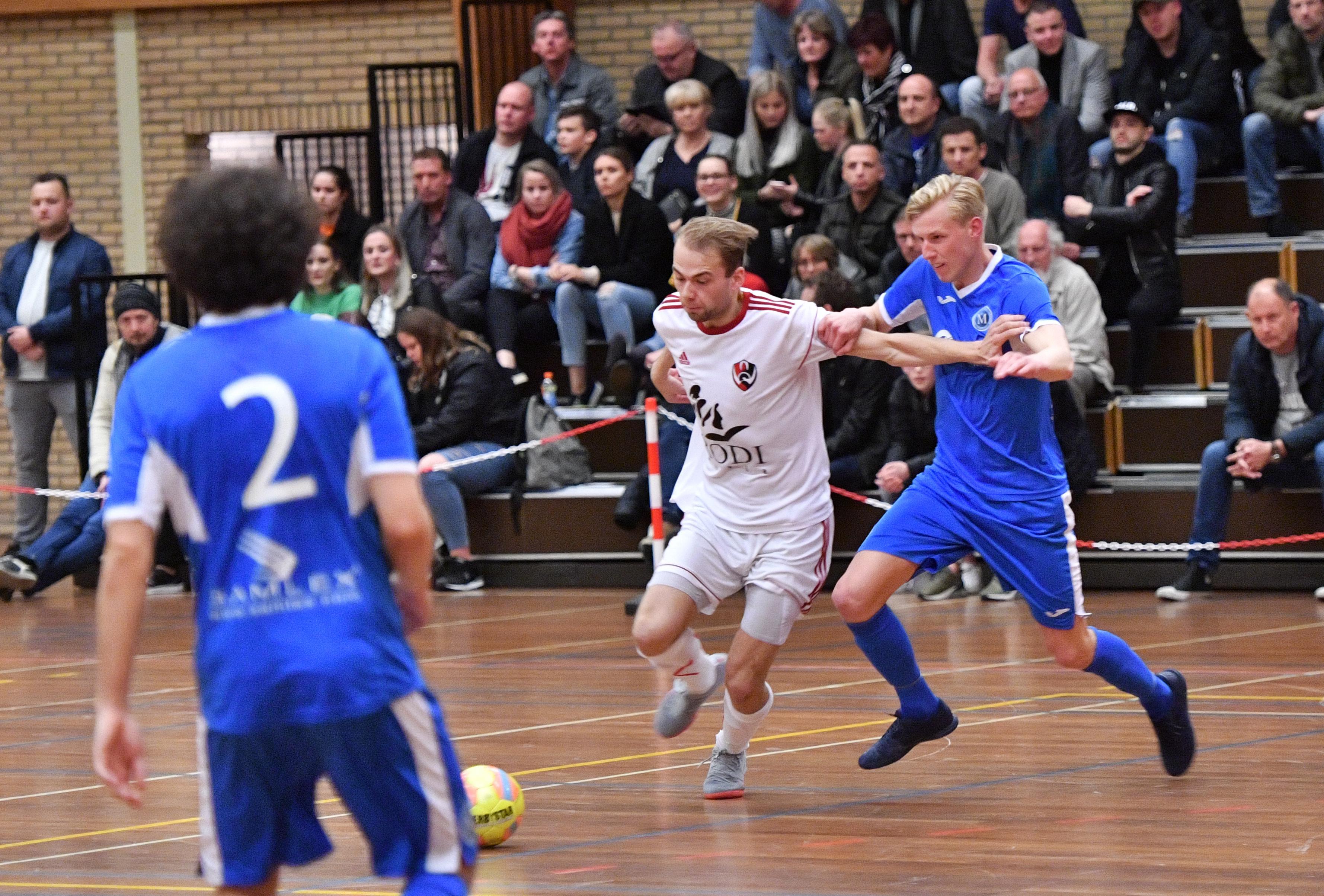 White Stones grijpt kans op derde jaar in eredivisie zaalvoetbal met beide handen aan