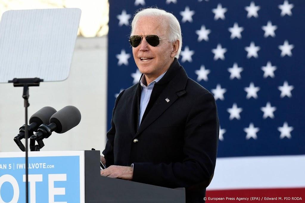 Biden emotioneel in toespraak voor thuisstaat Delaware
