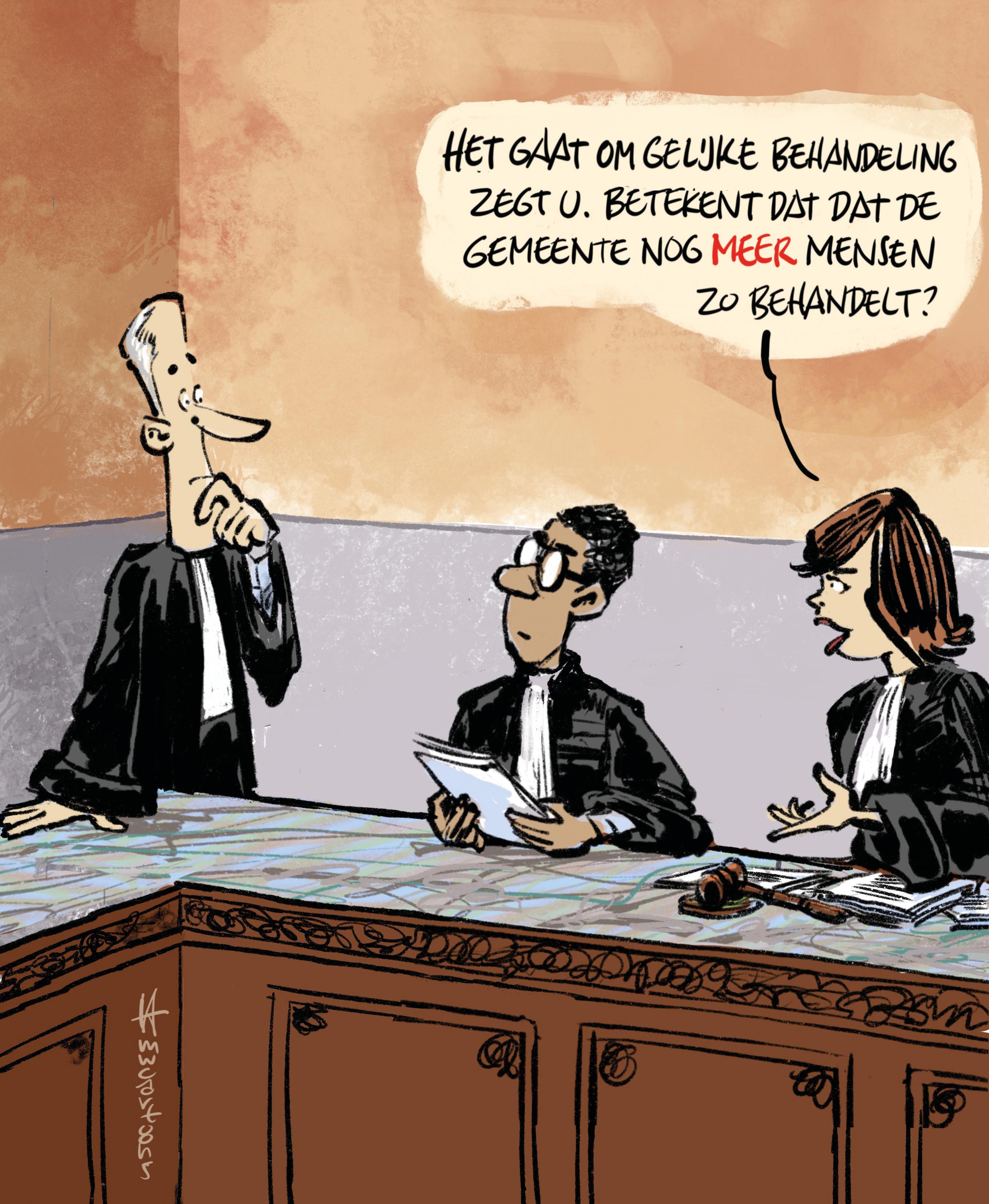 Heemsteedse Mieke Molenaar krijgt gelijk van rechter na onterechte parkeerboete