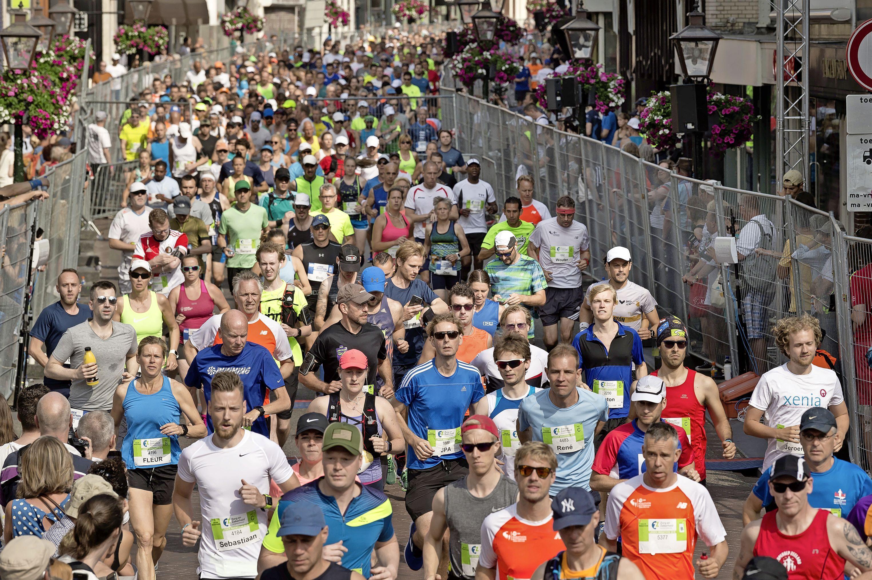 Leiden Marathon vastgesteld op 10 oktober, maar de vlam komt pas volgend jaar