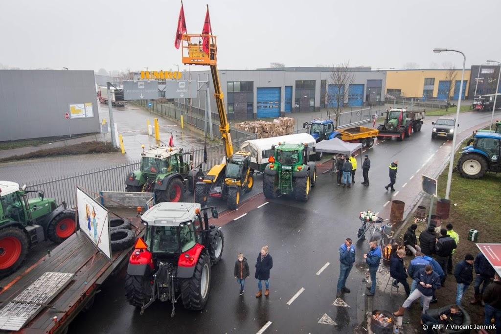 Minder Jumbo-boodschappen bezorgd door boerenprotest