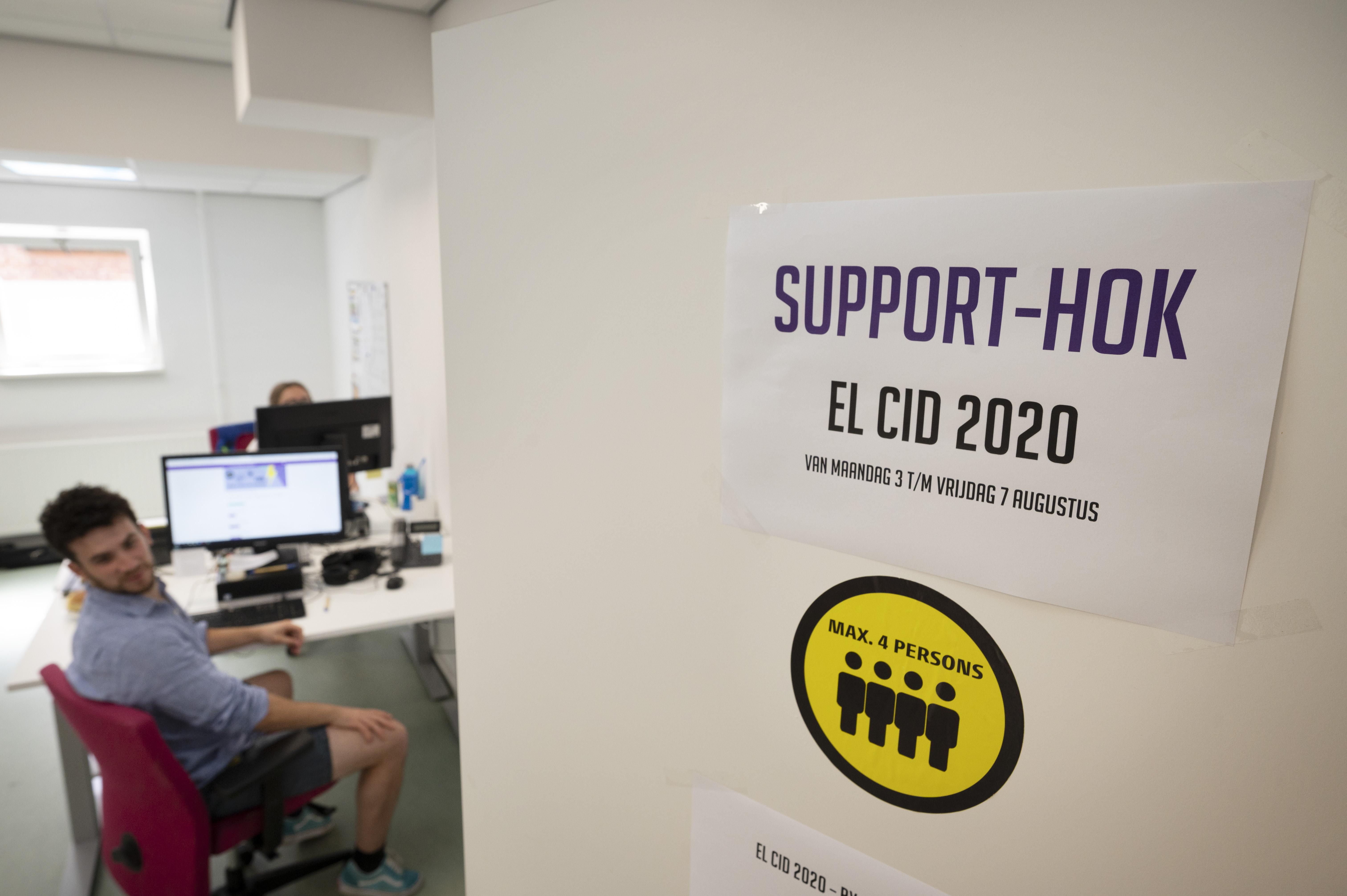 Hoofdkwartier El Cid-organisatie is digitale vesting geworden: 'Vanuit hier sturen we alles aan'