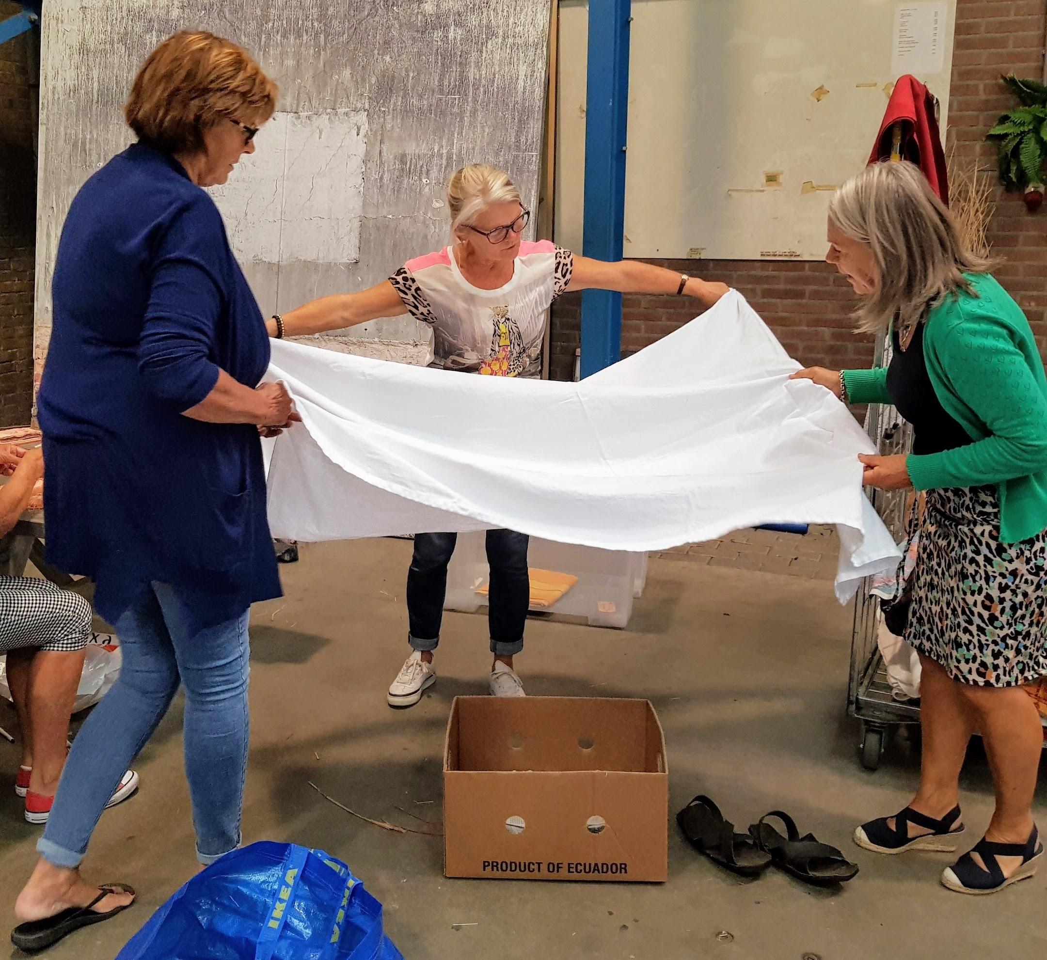 Lappendagen in Avenhorn: koopjesjagen voor goede doel