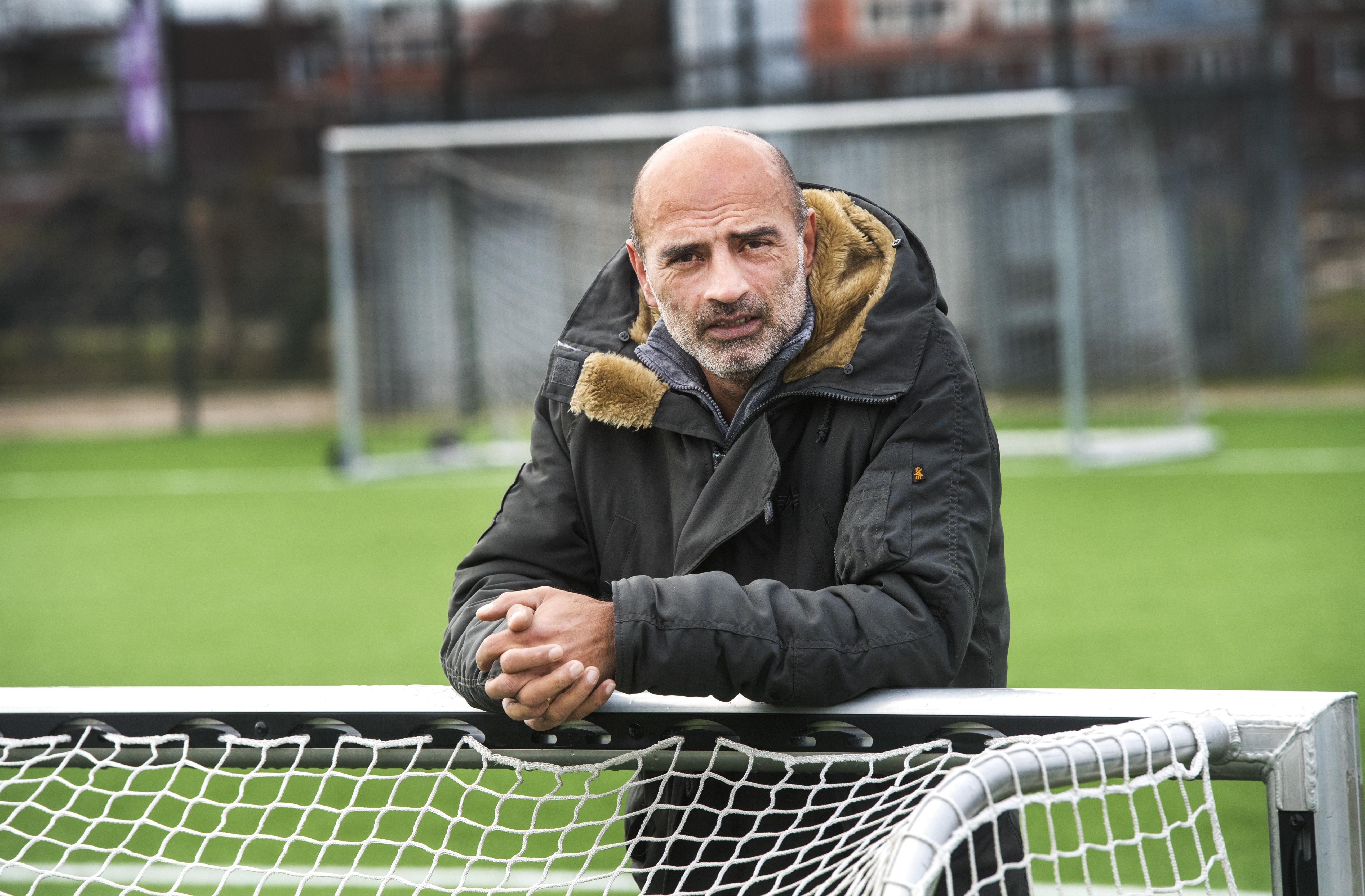 Radjin de Haan: 'Ik hou meer van het Engelse onverschrokken no-nonsense voetbal'