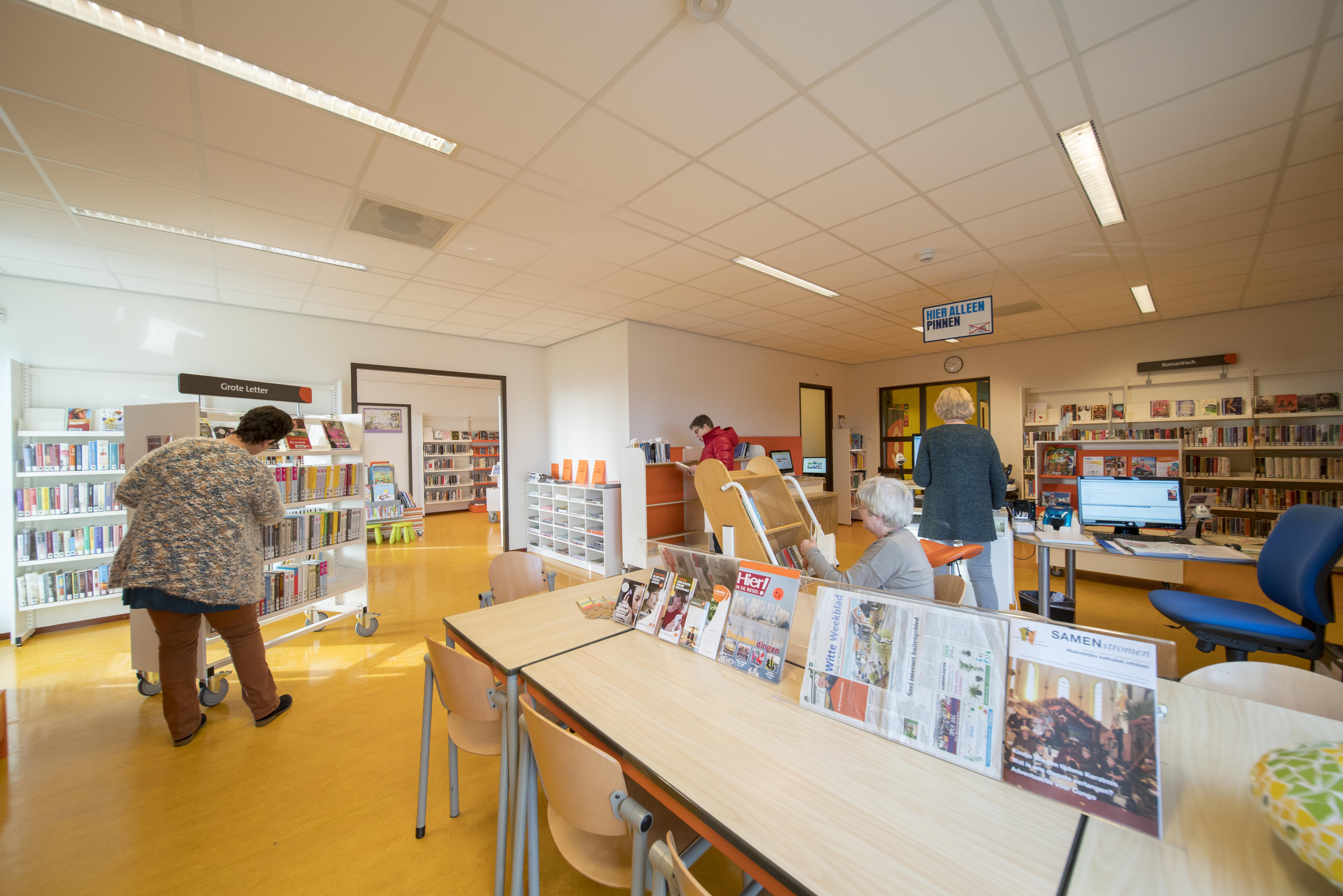 Bibliotheken Leiden en Bollenstreek weer open, Katwijk en Alphen wachten nog