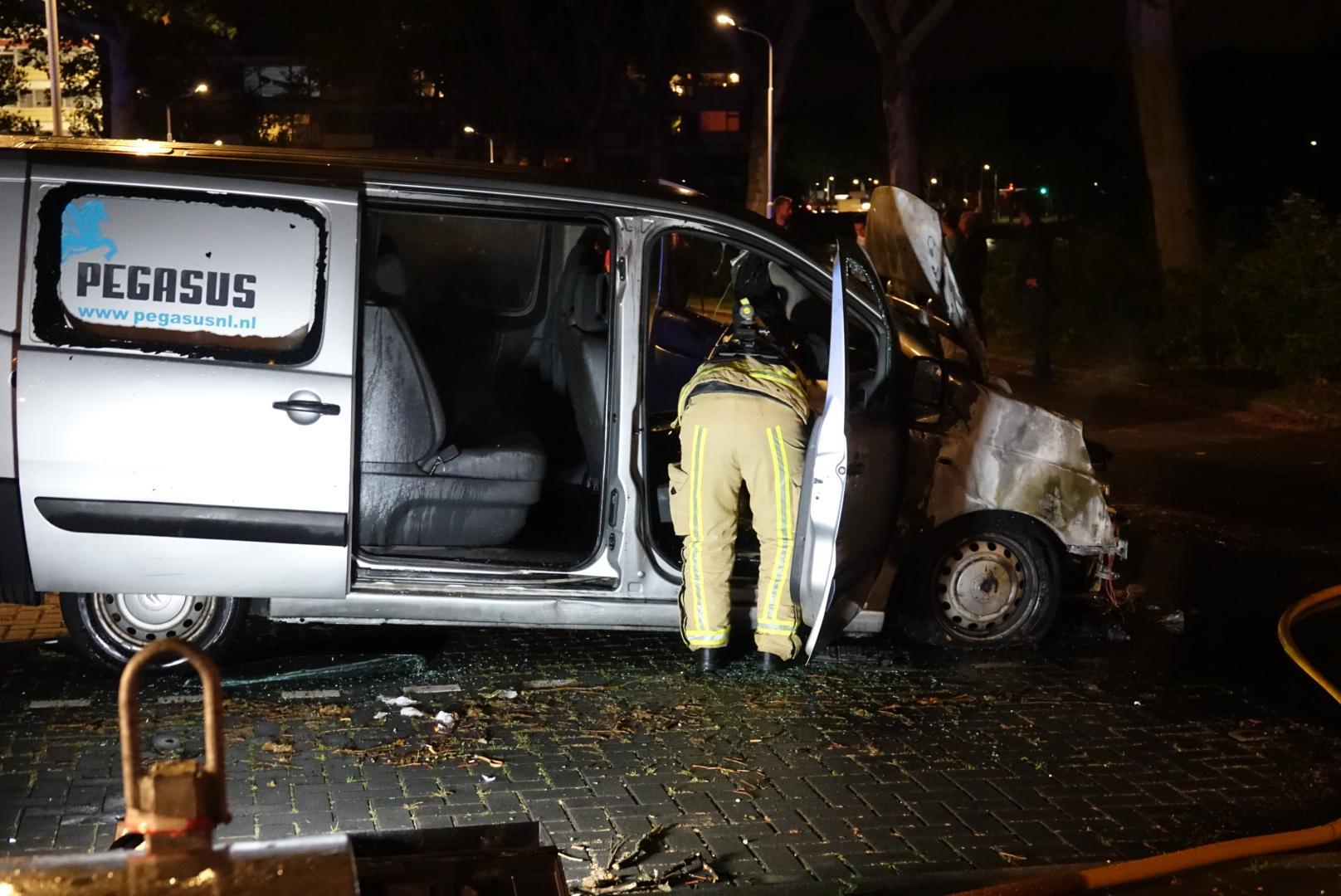 Opnieuw autobrand in Zaandam