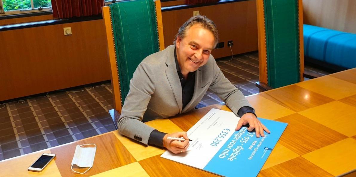 Hilversum krijgt ruim 3,5 ton voor platform voor digitalisering midden- en kleinbedrijf in Gooi en Vecht