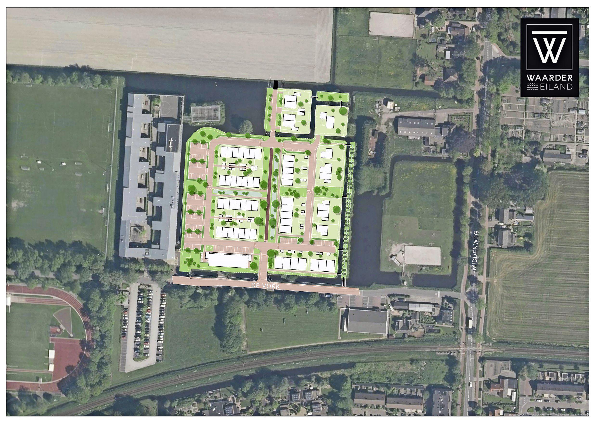 Gasloos wonen op Waarder Eiland: Heerhugowaard krijgt er nieuwe wijk met 76 koophuizen bij
