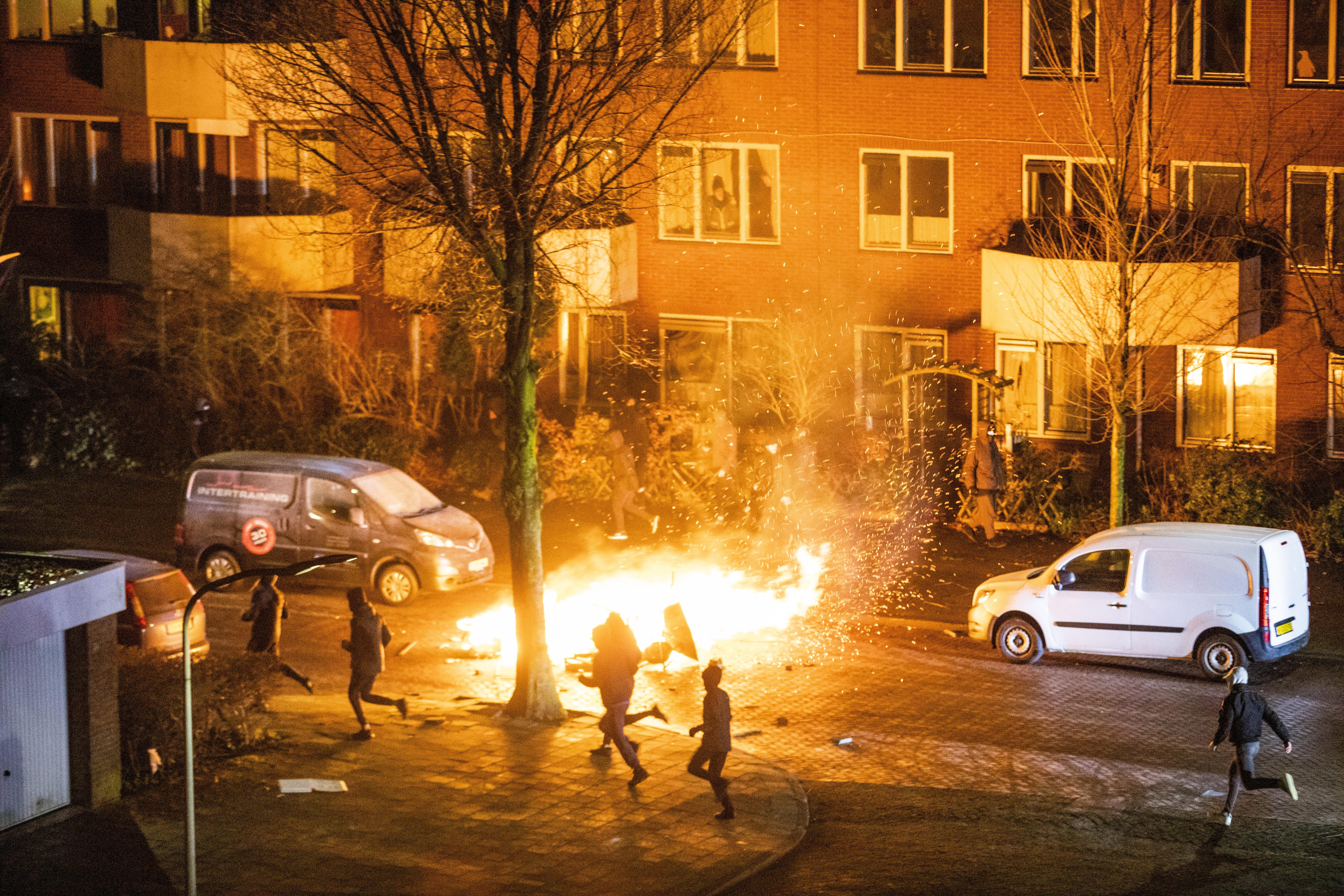 Relschoppers Noord-Holland snel berecht, verdachten tussen de 15 en 37 jaar oud