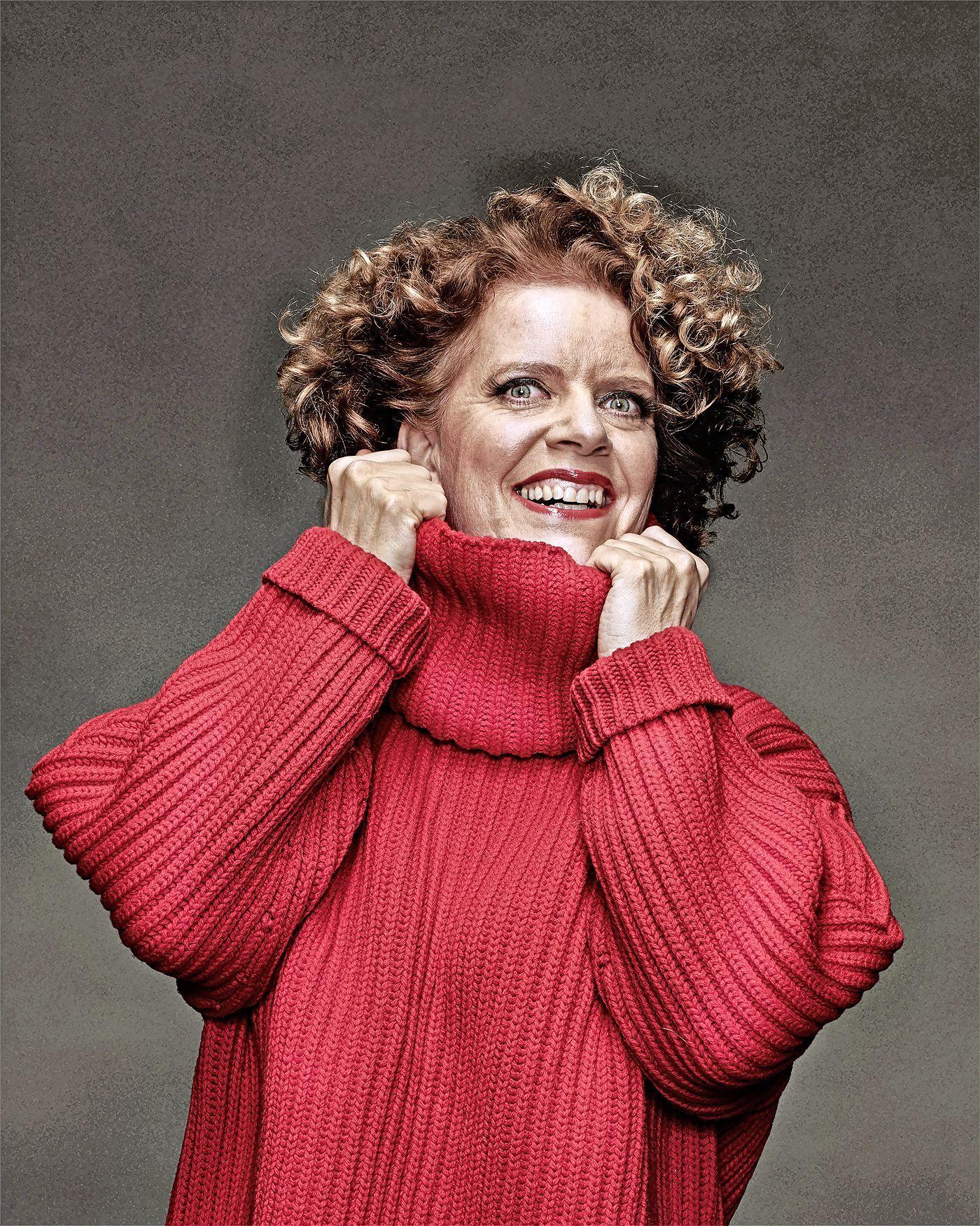 Run op speciale optredens cabaretière Brigitte Kaandorp in hotelkamers Landgoed Duin & Kruidberg in Santpoort-Noord