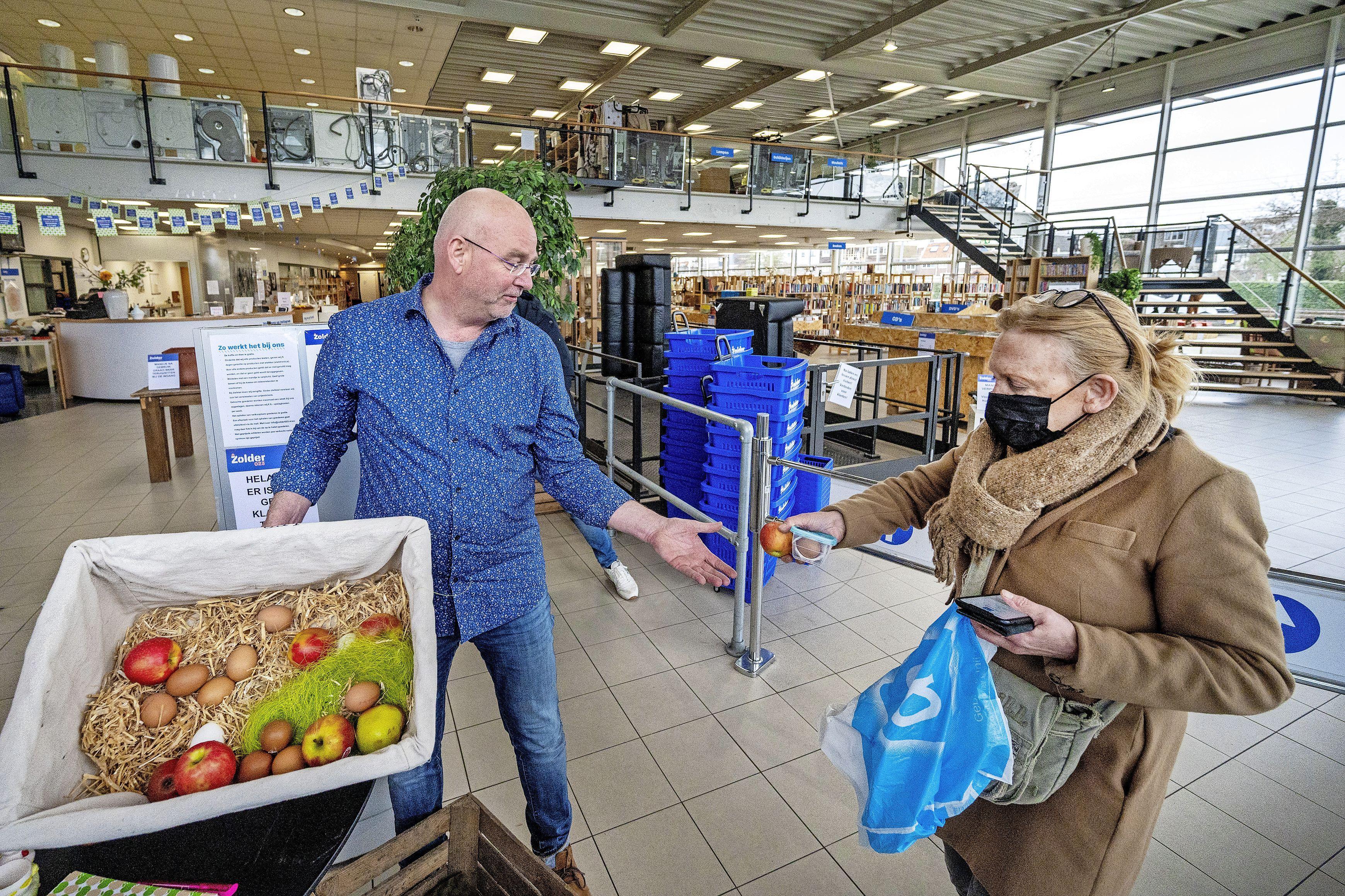 Paasactie Zolder023: Korting voor klanten en appels en eieren voor dieren van de Artisklas