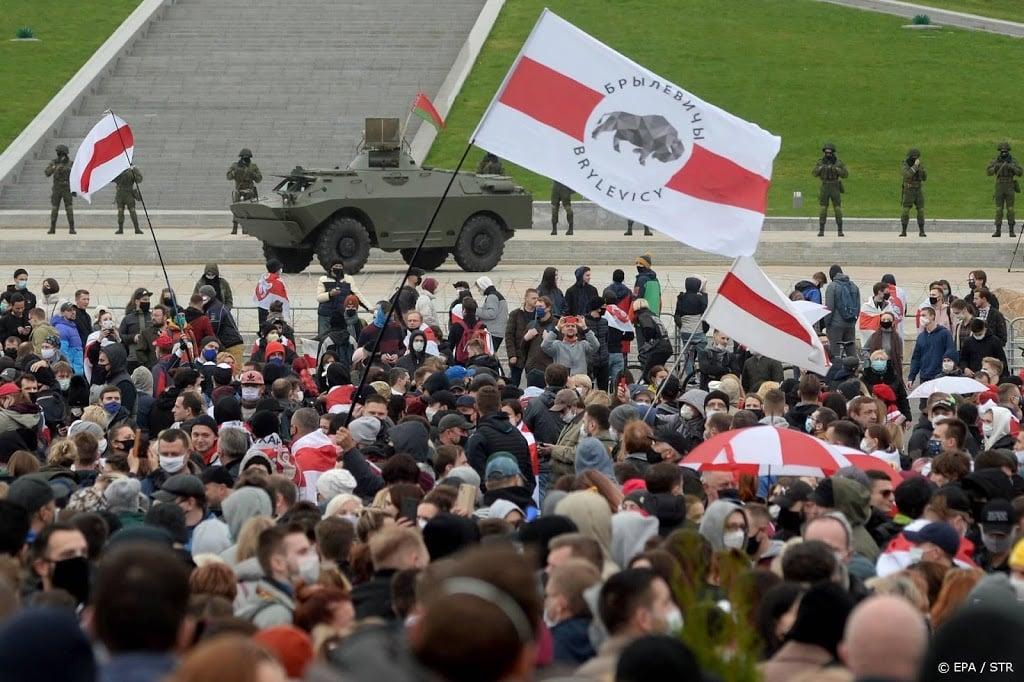 Zeker 500 demonstranten opgepakt in Wit-Rusland