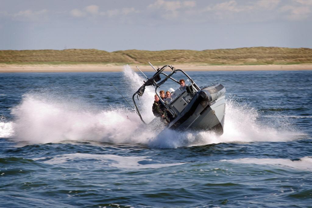 Chroom6-verf aangetroffen op speedboten Koninklijke Marine