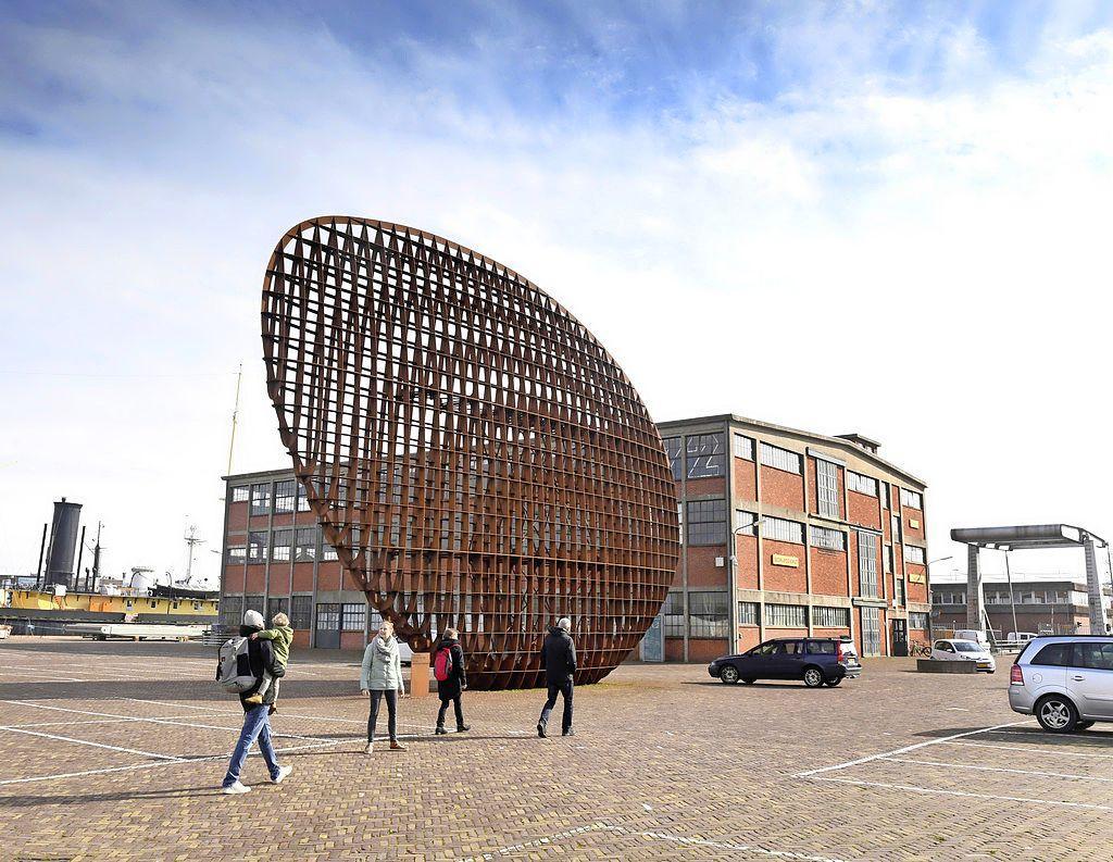 Erfgoedvereniging Heemschut handhaaft de kritische brief over het stadhuisplan van Den Helder. 'Waar het om gaat is dat het in strijd is met het bestemmingsplan'