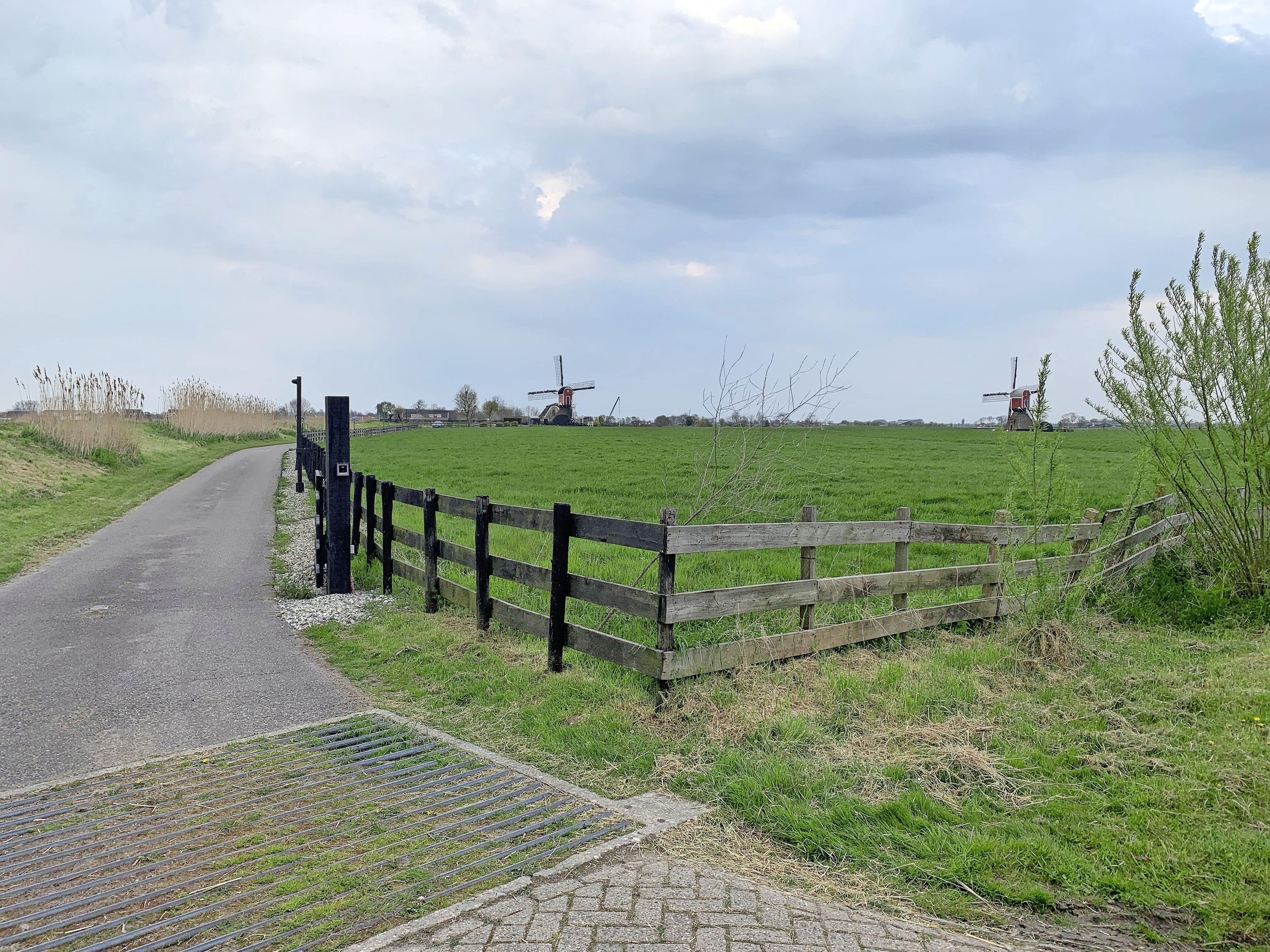 In een elf kilometer lange wandeling tien tot dertien molens zien: het kan tegenwoordig rond Hoogmade