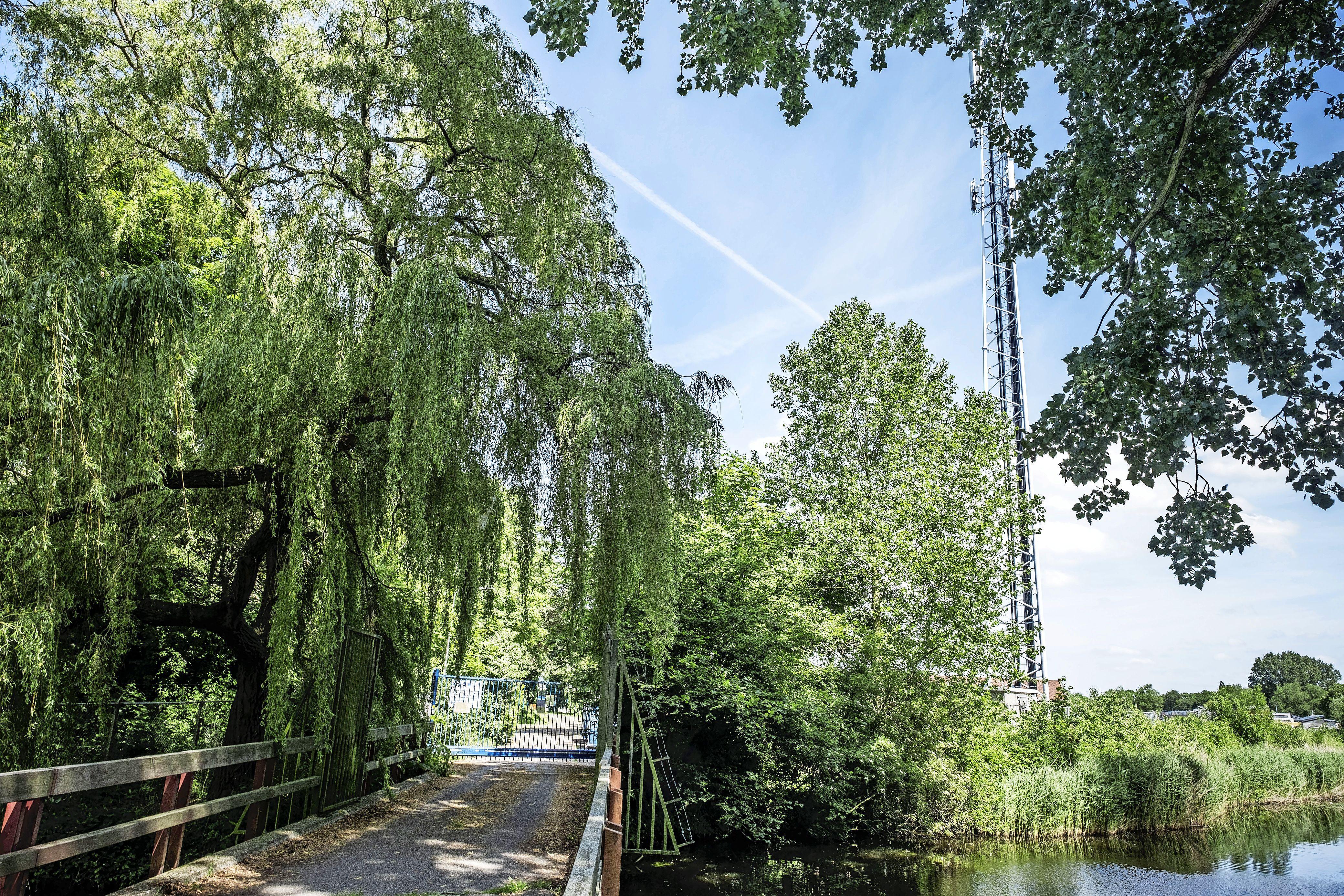 Nieuwe wandelroute over Nuon-terrein van Oude Kwekerij naar Helderseweg